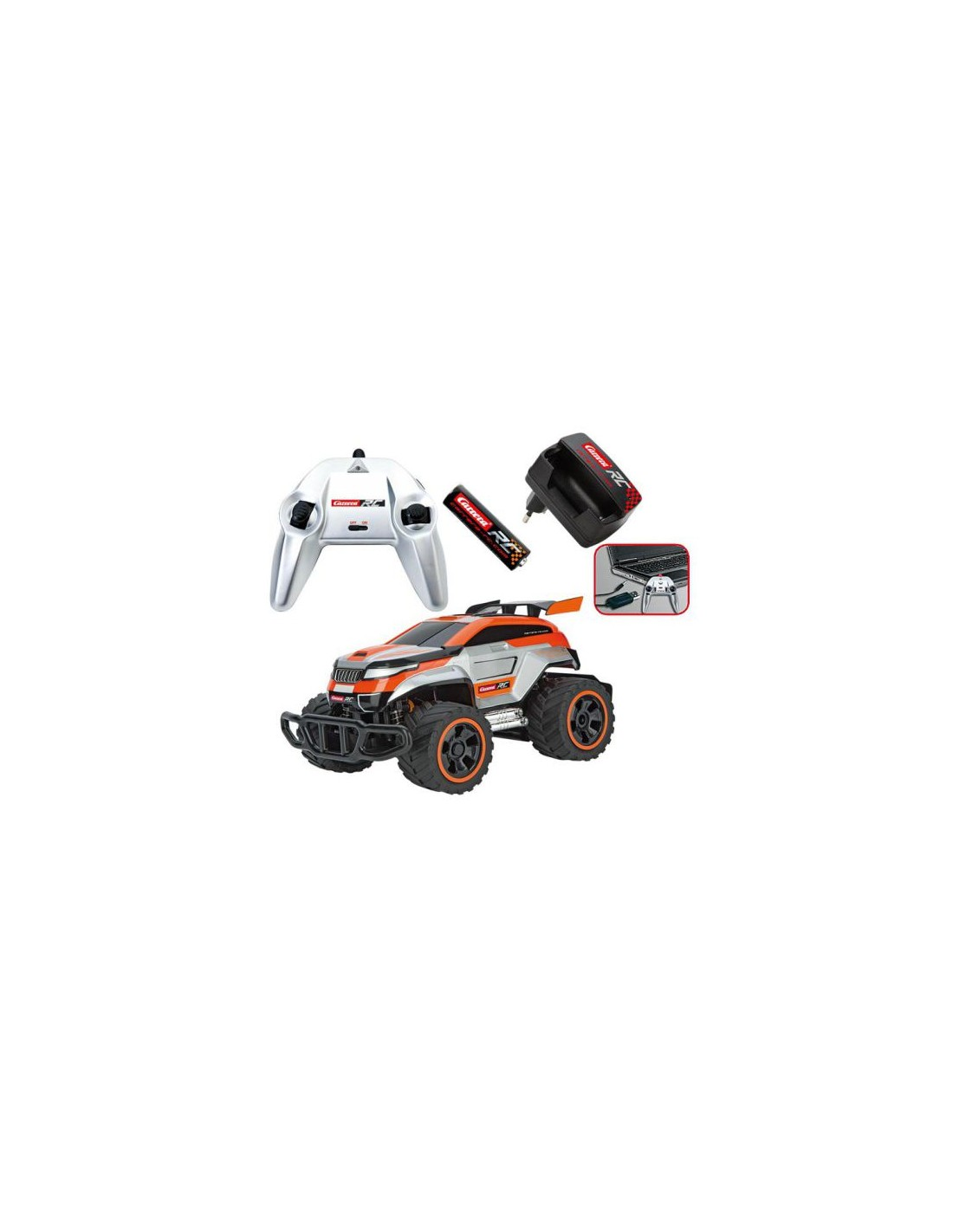 carrera orange breaker 2 2 4ghz rc